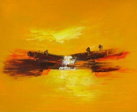 Obraz - Žluté snění