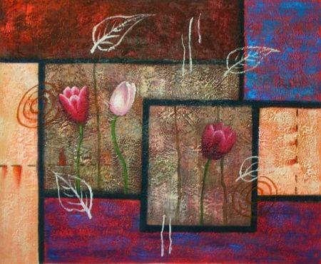 Obraz - Změti tulipánů