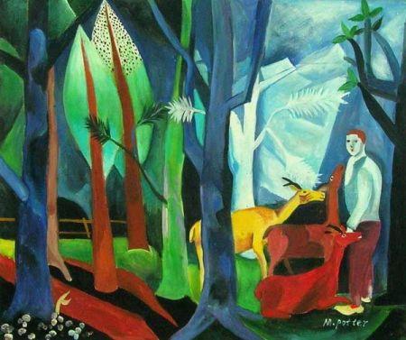 Obraz - Ztracen v lese