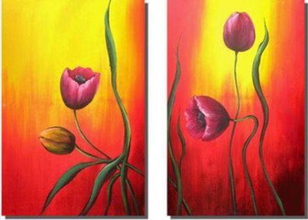 Obrazový set - Květiny na slunci
