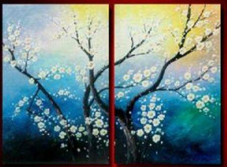 Obrazový set - Kvetoucí strom