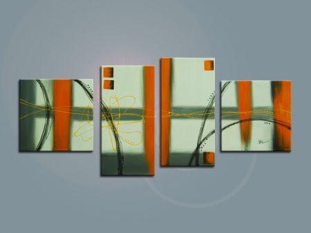 Obrazový set - Oranžové probuzení