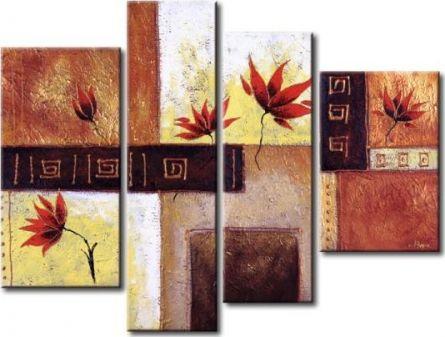 Obrazový set - Oživlé květy