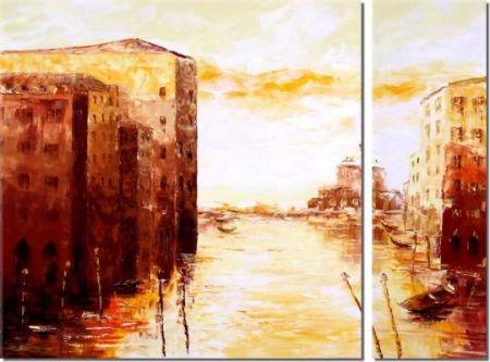 Obrazový set - Rozbřesk v Benátkách