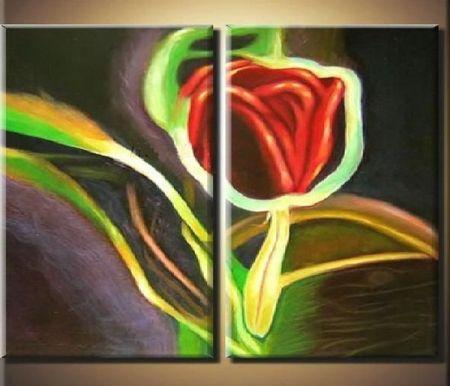 Obrazový set - Svítící růže