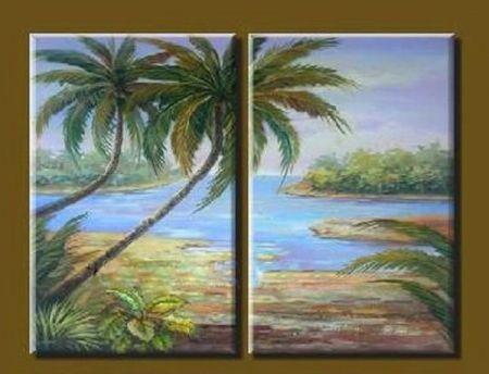 Obrazový set - Záliv