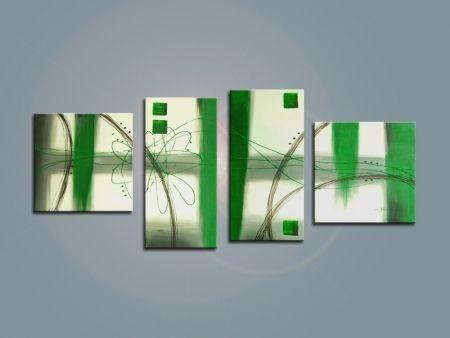 Obrazový set - Zelené probuzení