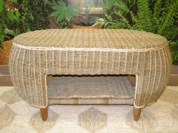 Obývací stolek SAN JUAN - mořská tráva