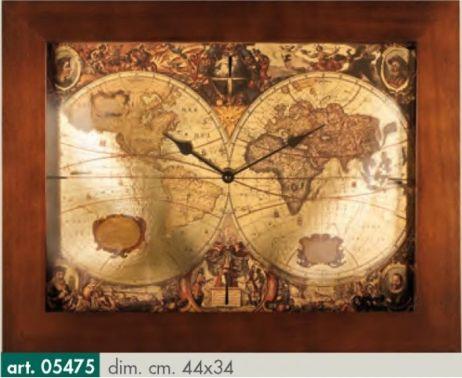 Originální nástěnné hodiny 05475 Lowell Prestige 44cm