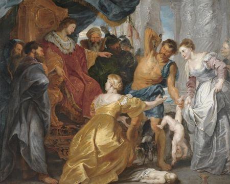 Peter Paul Rubens - Soud Šalamounův
