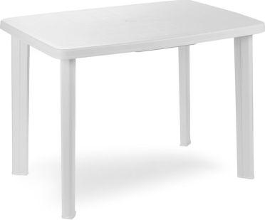 Plastový zahradní stůl Faretto bílý
