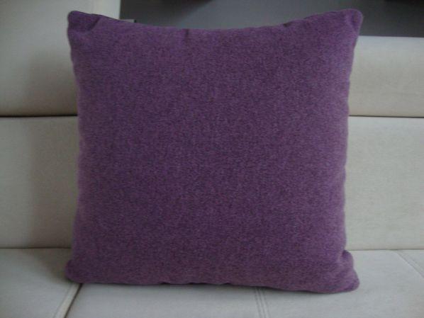 Polštář 40x40 cm fialový