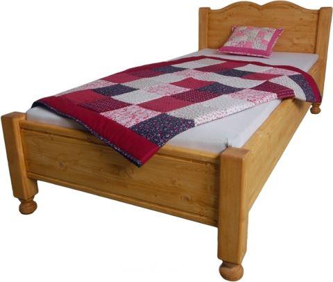 Dřevěná postel Kamila jednolůžková