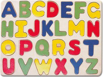 Puzzle, abeceda