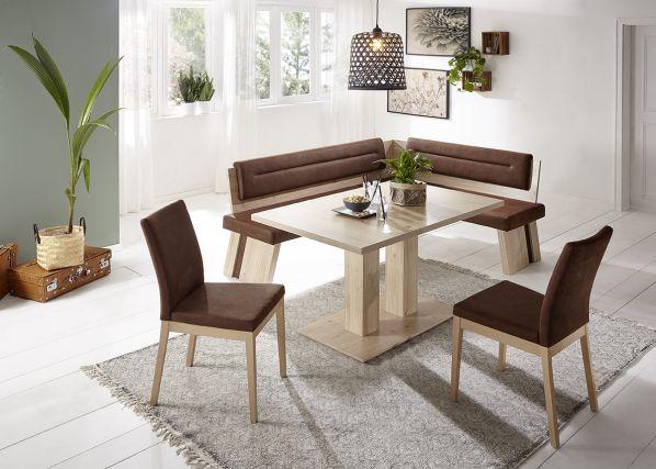 Rohová jídelní lavice Duo A