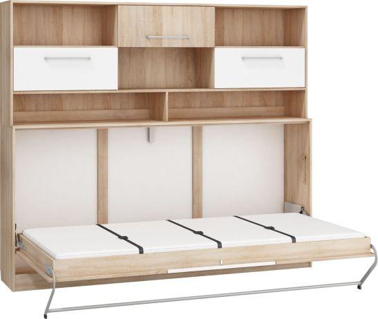 Sklápěcí postel Roger s nástavcem