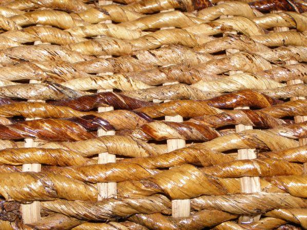 Skříňka 2 úložné prostory-banánový list