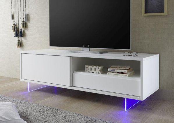 Skříňka pod televizi Aladin-TV bílý matný lak