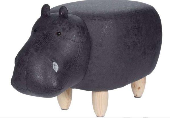 Stolička ve tvaru hrocha Hippo