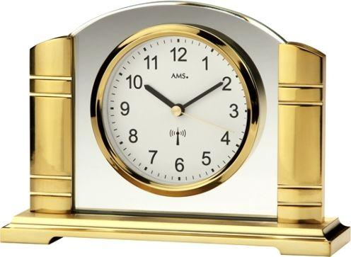 Stolní hodiny 5143 AMS řízené rádiovým signálem 19cm