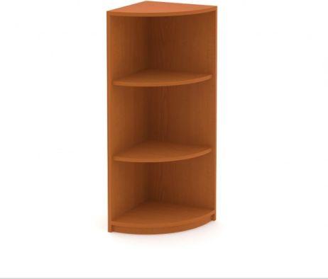 Středně vysoká rohová skříň