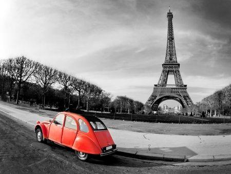 Tištěný obraz - Paříž