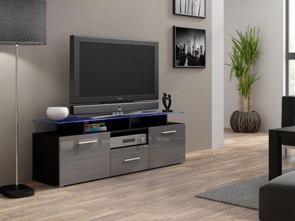 TV stolek Evora Mini černý