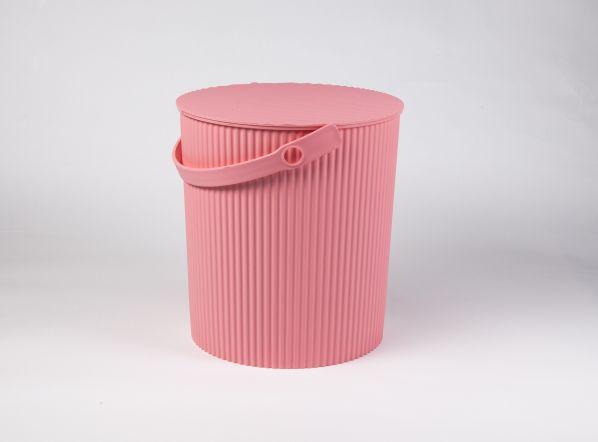 Úložný box, sedátko, stupínek 31cm, růžová