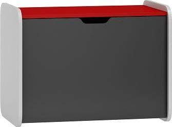 Úložný box SPEED ABS 19 bílá | grafit | červená