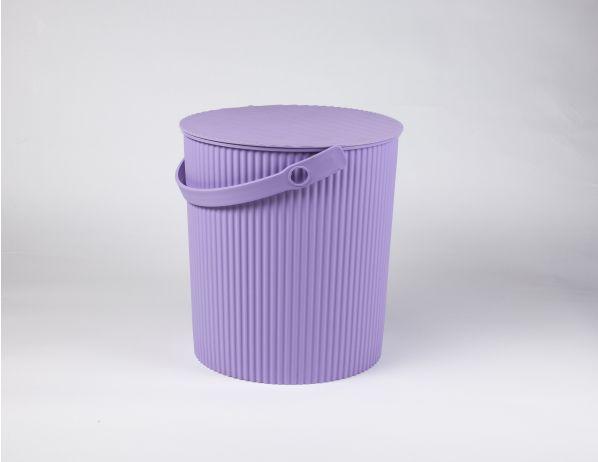Úložný box, sedátko, stupínek 31cm, fialová