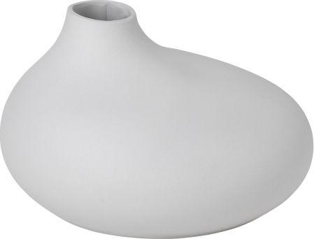 Váza v šedobílé barvě