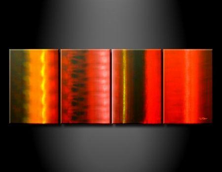 Vícedílné obrazy - Barevné pruhy