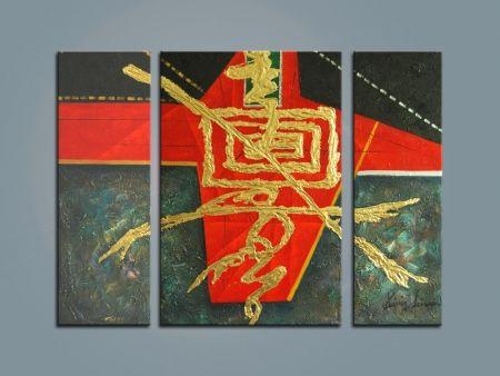 Vícedílné obrazy - Čínské znaky II.
