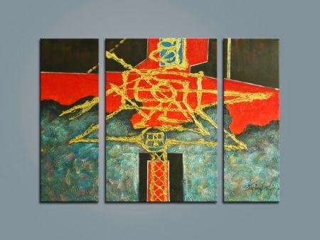 Vícedílné obrazy - Čínské znaky III.