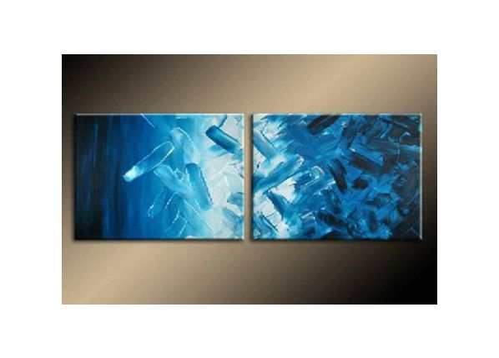Vícedílné obrazy - Modré svítání
