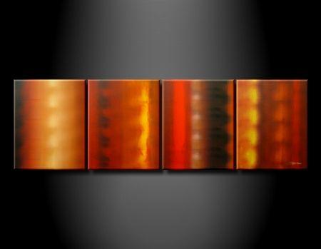 Vícedílné obrazy - Přechod barev