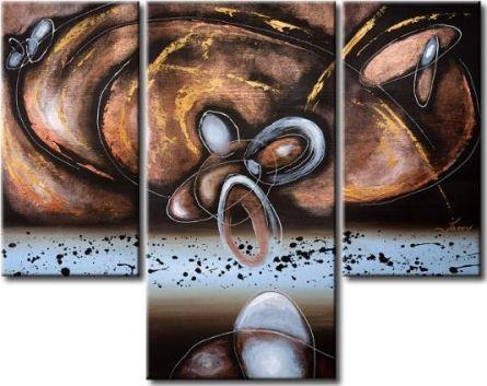 Vícedílné obrazy - Ve vesmíru