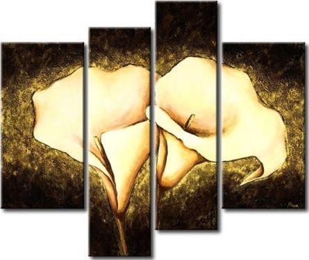Vícedílné obrazy - Zářivé kaly