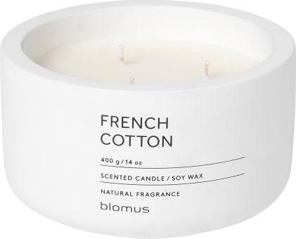 Vonná svíčka French Cotton - kulatá