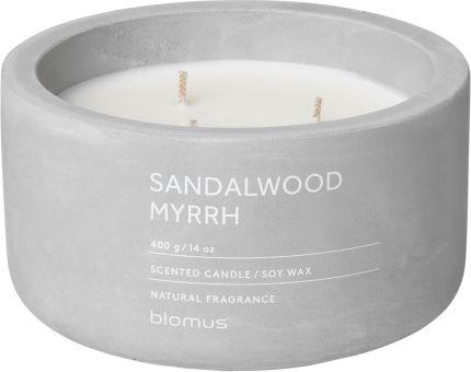 Vonná svíčka Sandalwood Myrrh - kulatá