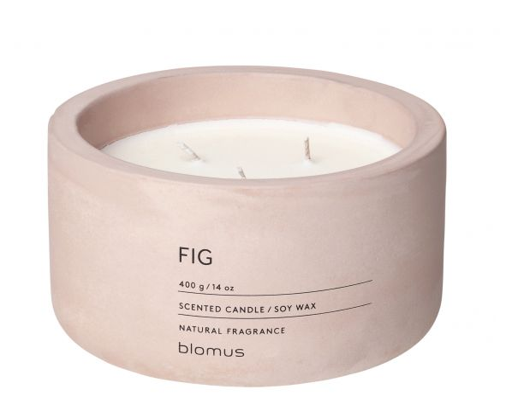 Vonná svíčka Fig - kulatá