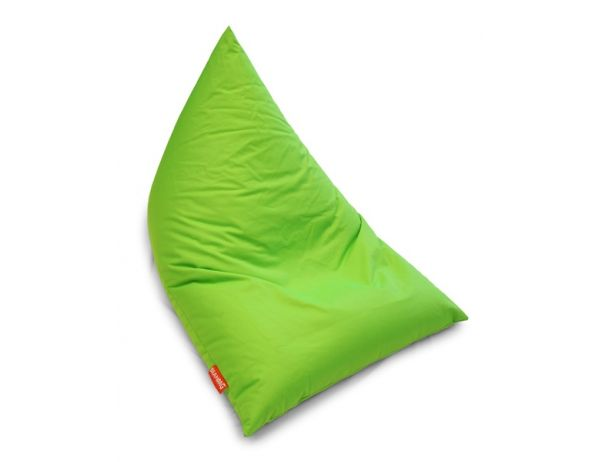 Zelený sedací vak BeanBag Triangle Light Green