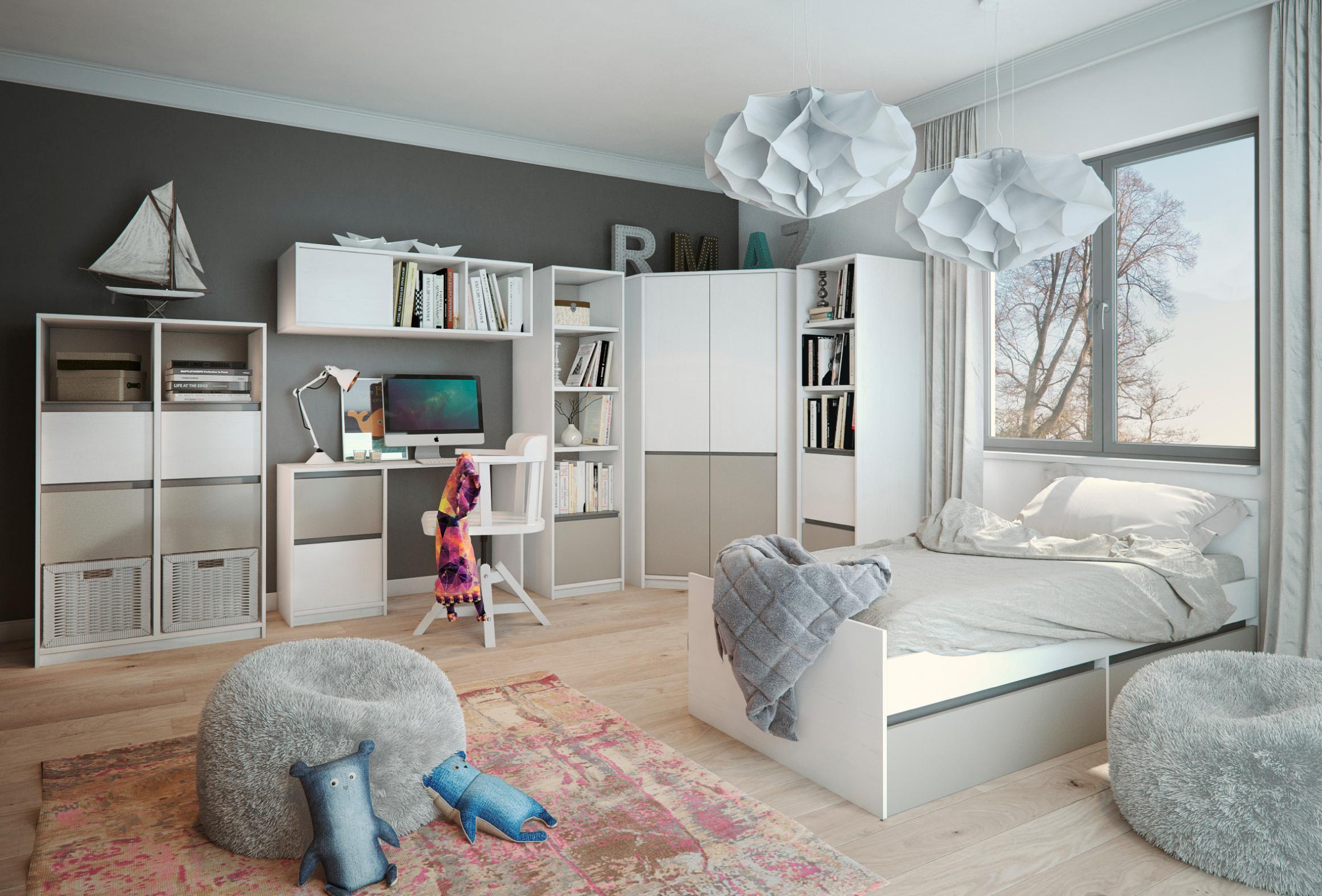 Jaké jsou nejhezčí dětské pokoje? Jak zařídit dětský pokoj?