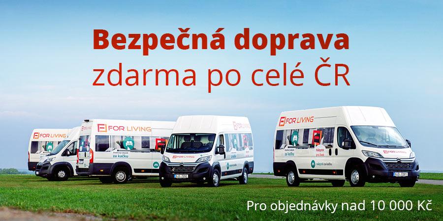Bezpečná doprava nábytku po celé ČR zdarma
