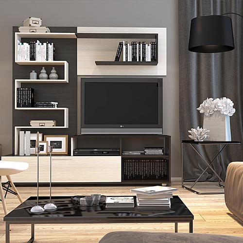 Když se vám líbí: černobílý interiér