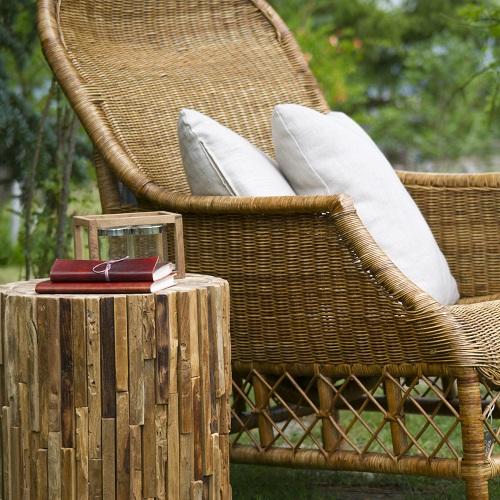 Přírodní ratanový nábytek: Kousek exotiky u vás doma