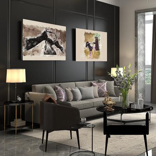Interiér jako malovaný